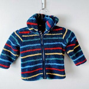 Hanna Anderson Fleece Zip Up Hoodie Sweater 2T